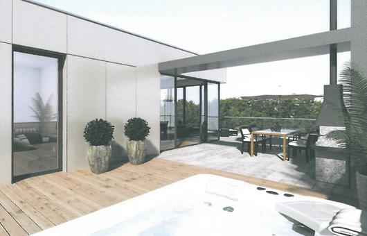 Villa Victoria - Dachterrasse