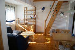 Entzückende Wohnung im Dachgeschoß mit Spitzboden